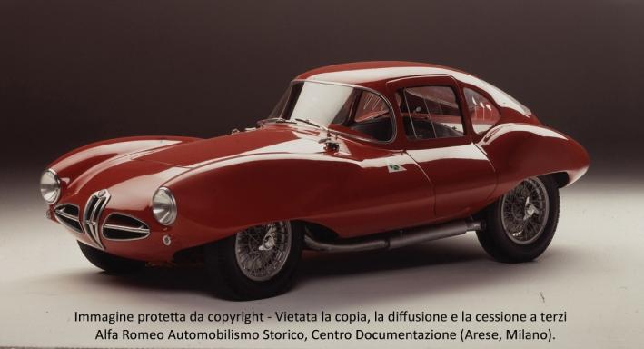 6 - Alfa Romeo Disco Volante Coupé 1952