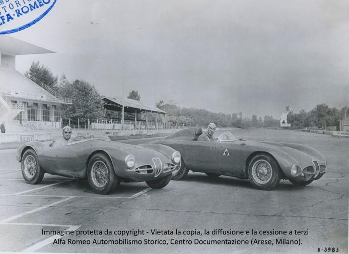 9 - MONZA Sanesi Zanardi Disco volante fianchi stretti e 3000 CM 1953