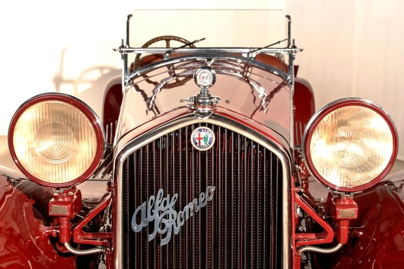 Alfa Romeo 8c 2300 Spider Sport Zagato - ArchivioMuseoScienza - Vietata la duplicazione