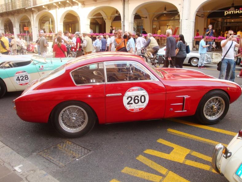 FIAT 8V berlinetta Zagato - 1953