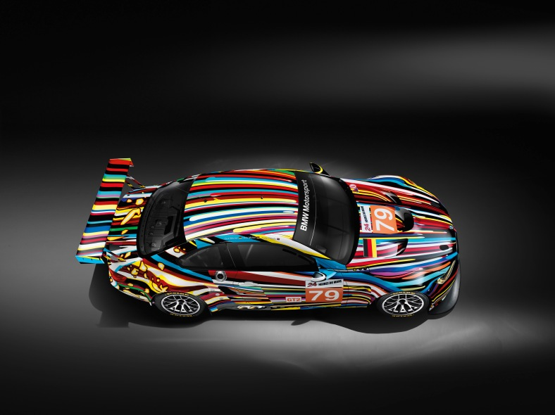 Jeff Koons 17. BMW Art Car, 2010 (BMW M3 GT2) (05/2010)