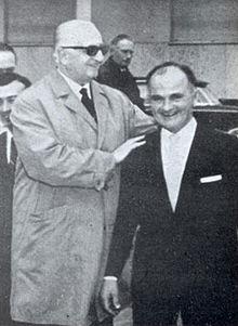 Ilario Bandini ed Enzo Ferrari, 1964