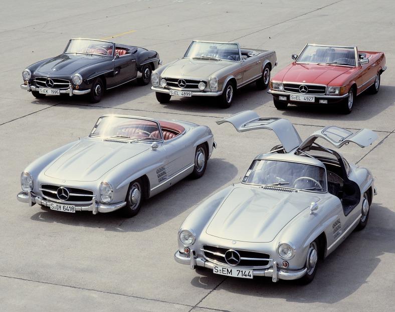 190_SL_W_121,_SL_Pagoda_W_113,_SL-Roadster_W_107,__300_SL-Roadster,__300_SL_W_198