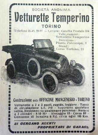 Temperino vintage advert
