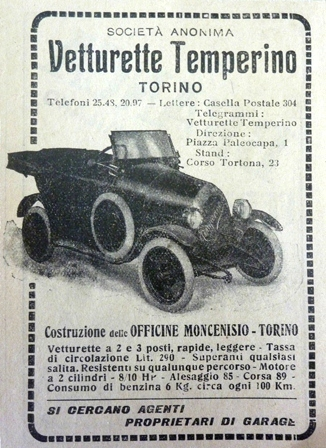 Temperino vintage advert